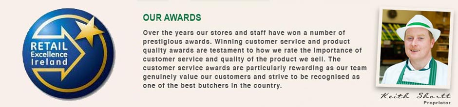 McArdle Meats - Our Awards